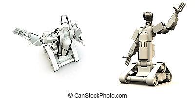 droids, de, futuro
