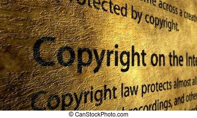 droit d'auteur, internet