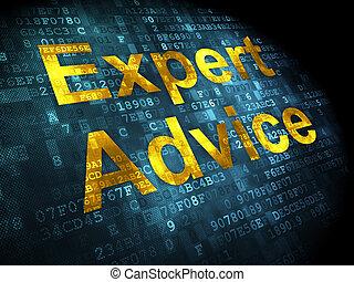 droit & loi, concept:, expert, conseil, sur, arrière-plan numérique