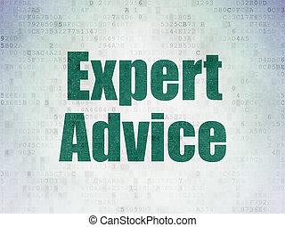 droit & loi, concept:, expert, conseil, sur, numérique, données, papier, fond