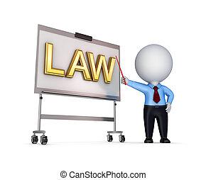 droit & loi, concept.