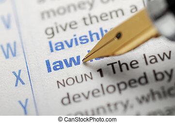 droit & loi, -, dictionnaire, série