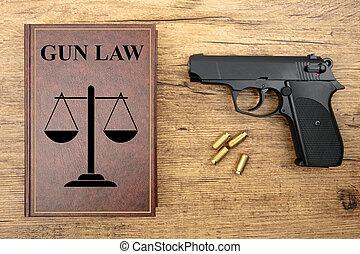 droit & loi, fusil