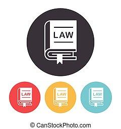 droit & loi, icône