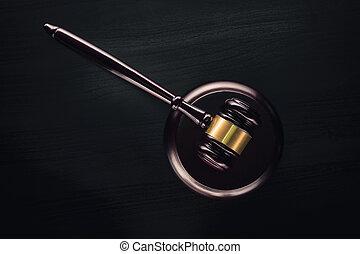 droit & loi, marteau, légal, avocat