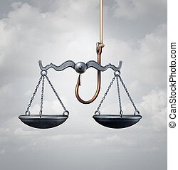 droit & loi, piège
