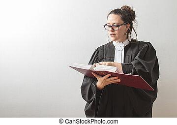 droit & loi, reciting