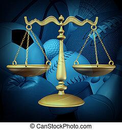 droit & loi, sports