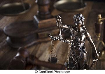 droit & loi, symbols.
