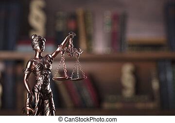 droit & loi, theme.
