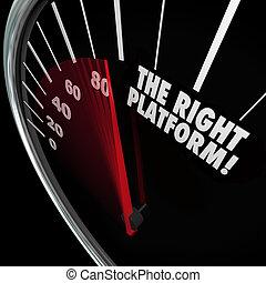 droit, processus, gérer, système, plate-forme, choisir,...
