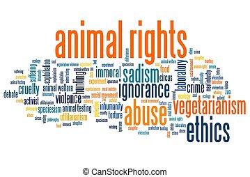 droits, animal