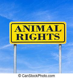 droits animaux