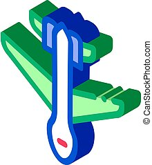 drone airplane isometric icon vector illustration