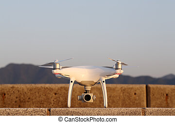 Drone before the flight