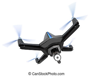 Drone equip with search light