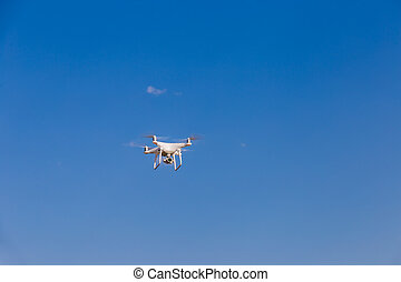 Drone fly in the sky