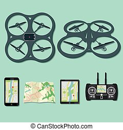 drone footage emblems