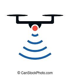 drone icon.vector illustration.