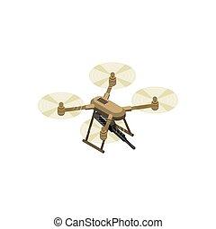 Drone Isometric Icon
