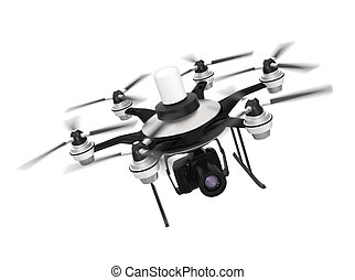 Drone mounted with DSLR camera