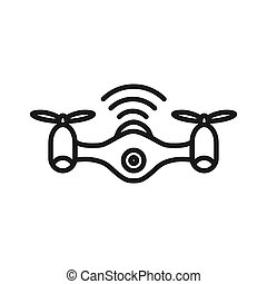 drone technology illustration design