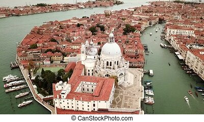 Drone video - Aerial view of Venice Italy - Drone video...
