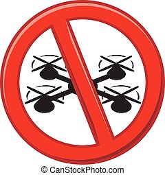 Drones are prohibited