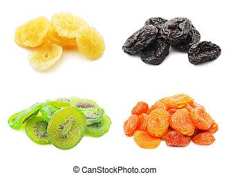 droog, vruchten