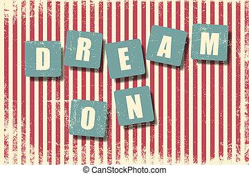 droom, op