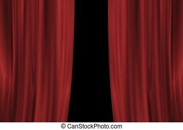 Drop Curtain NTSC - Drop Curtain Animation.