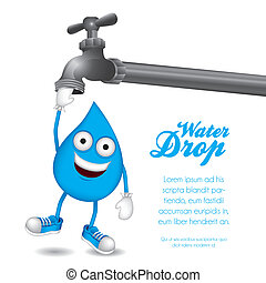 drop of water hanging