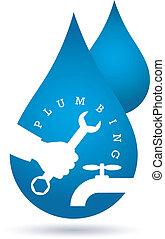 drop of water, plumbing repairs