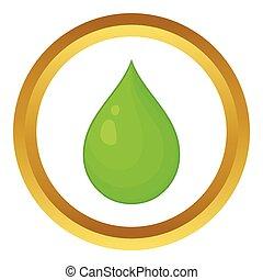 Drop of water vector icon