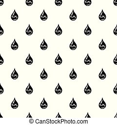 Drop oil pattern vector seamless