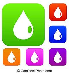Drop set color collection