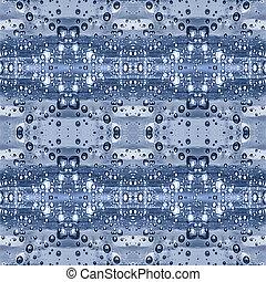 Drop Water Collage Seamless Pattern