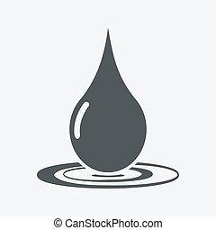 droppe, ikon