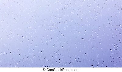 Drops of the rain, Backgrounds - Drops of the rain on window...