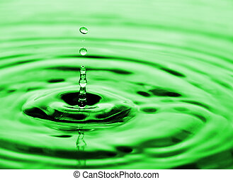 drops of water flowing relaxing image