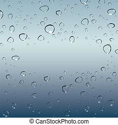 drops of water. Vector