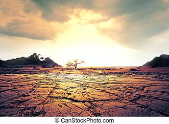 Drought land - drought land
