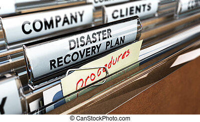 drp, katastrophe, genesung, plan
