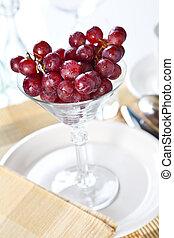 druer, ind, en, cocktail glas