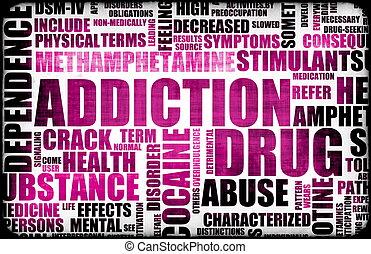 Drug Addiction Dangers Grunge As a Concept