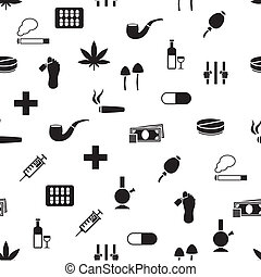 drug seamless pattern