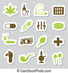 drug stickers