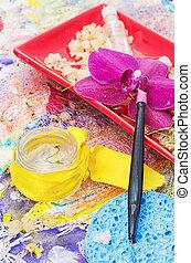 drug,natural Spa cosmetics