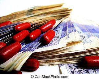 Drugs money