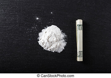 drugs strewn on the table